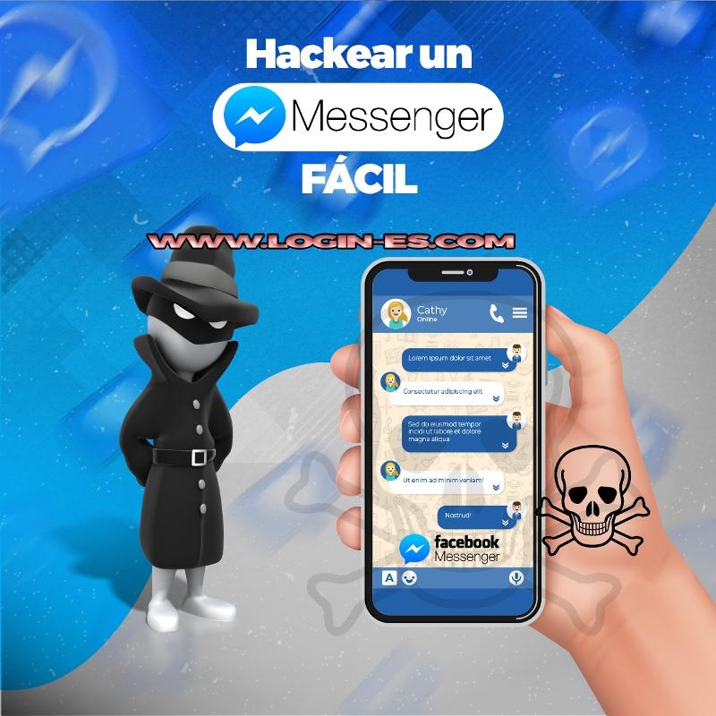 hackear messenger online