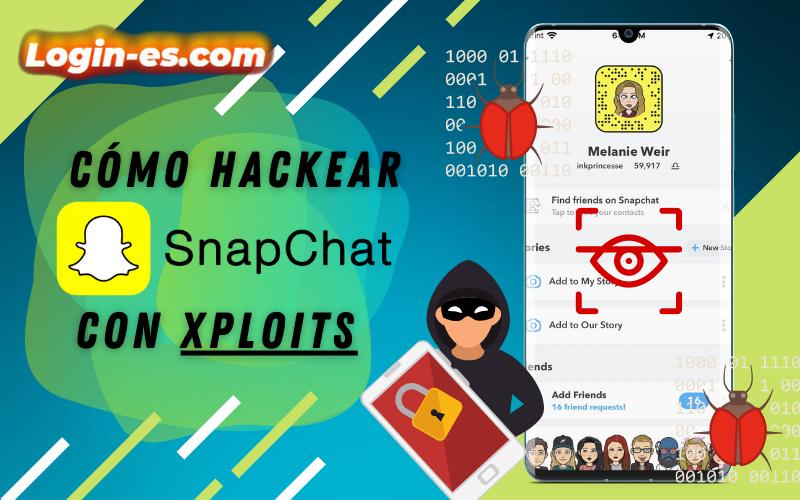 hackear snapchat xploits